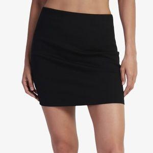 ❤️❤️❤️3/25$Zara thick knit mini skirt black.